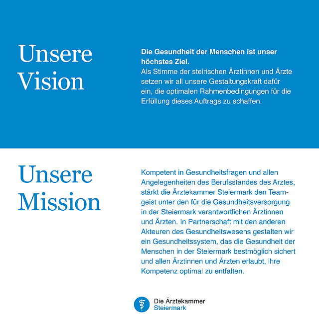 Unsere Vision/Mission